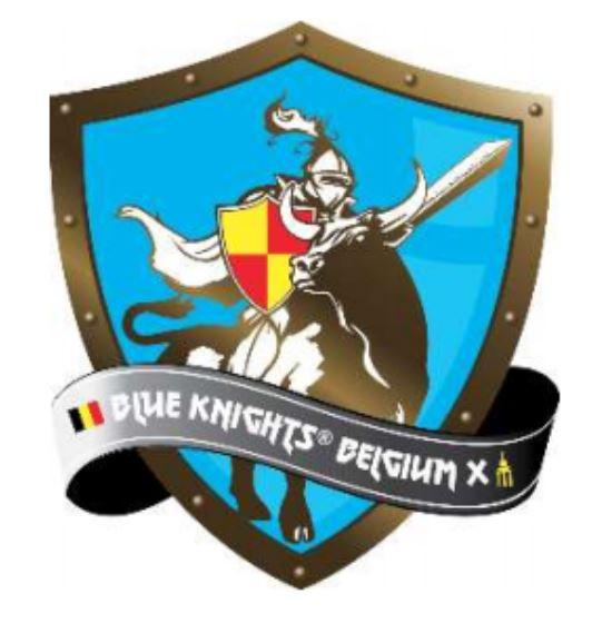 Blue Knights Belgium X